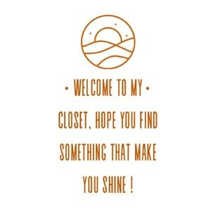 Welcome to my closet! Let's make you shine .